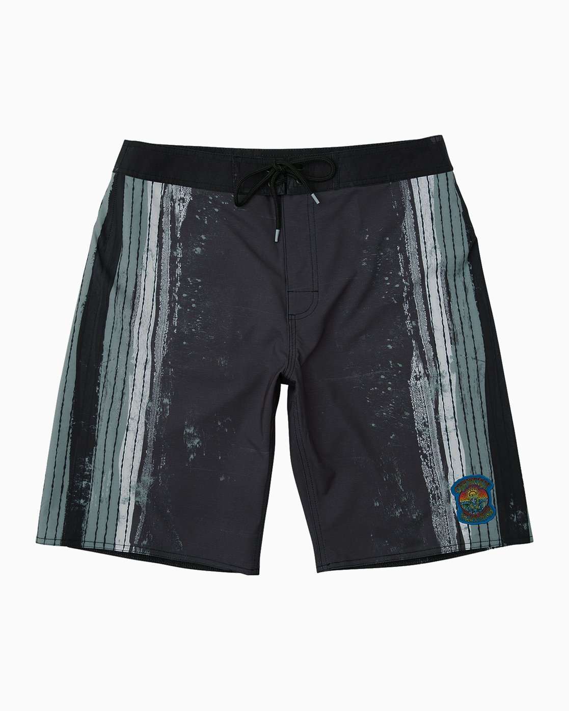 "0 Christian Fletcher 20"" Boardshort Black M103PRCH RVCA"
