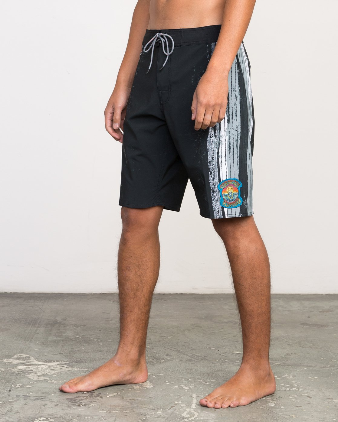"2 Christian Fletcher 20"" Boardshort Black M103PRCH RVCA"
