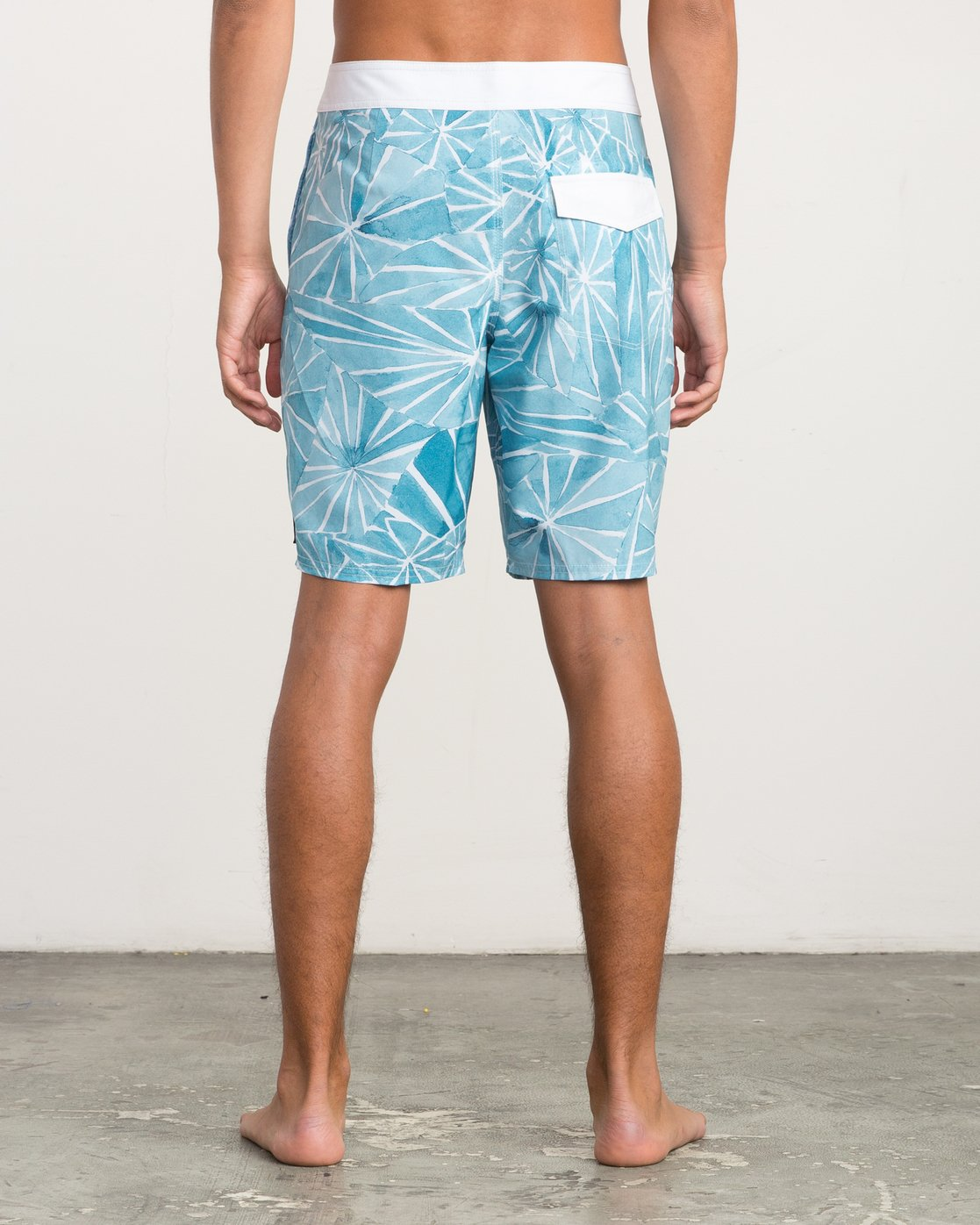 "4 Blade Printed 20"" Boardshort  M105QRBL RVCA"