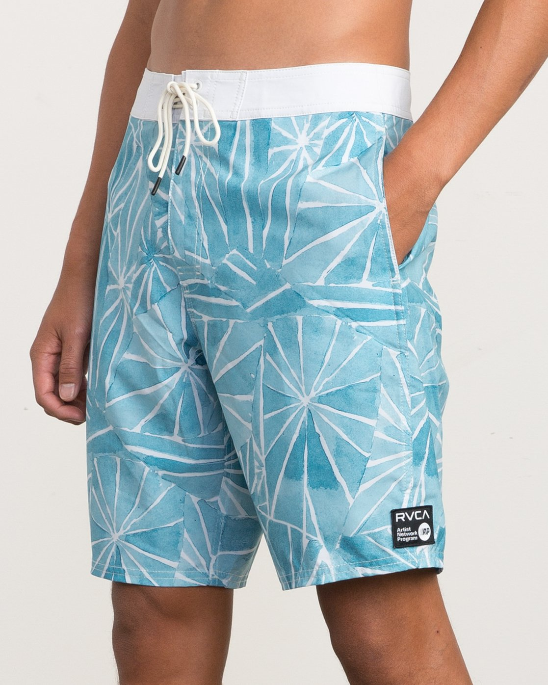 "7 Blade Printed 20"" Boardshort  M105QRBL RVCA"