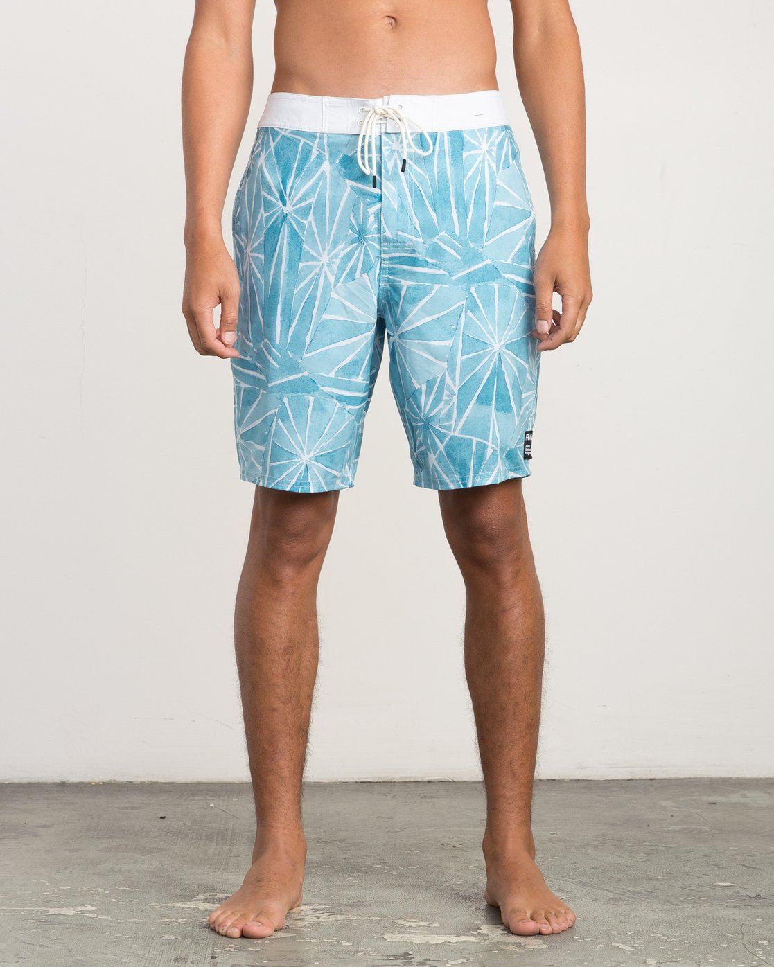 "1 Blade Printed 20"" Boardshort  M105QRBL RVCA"