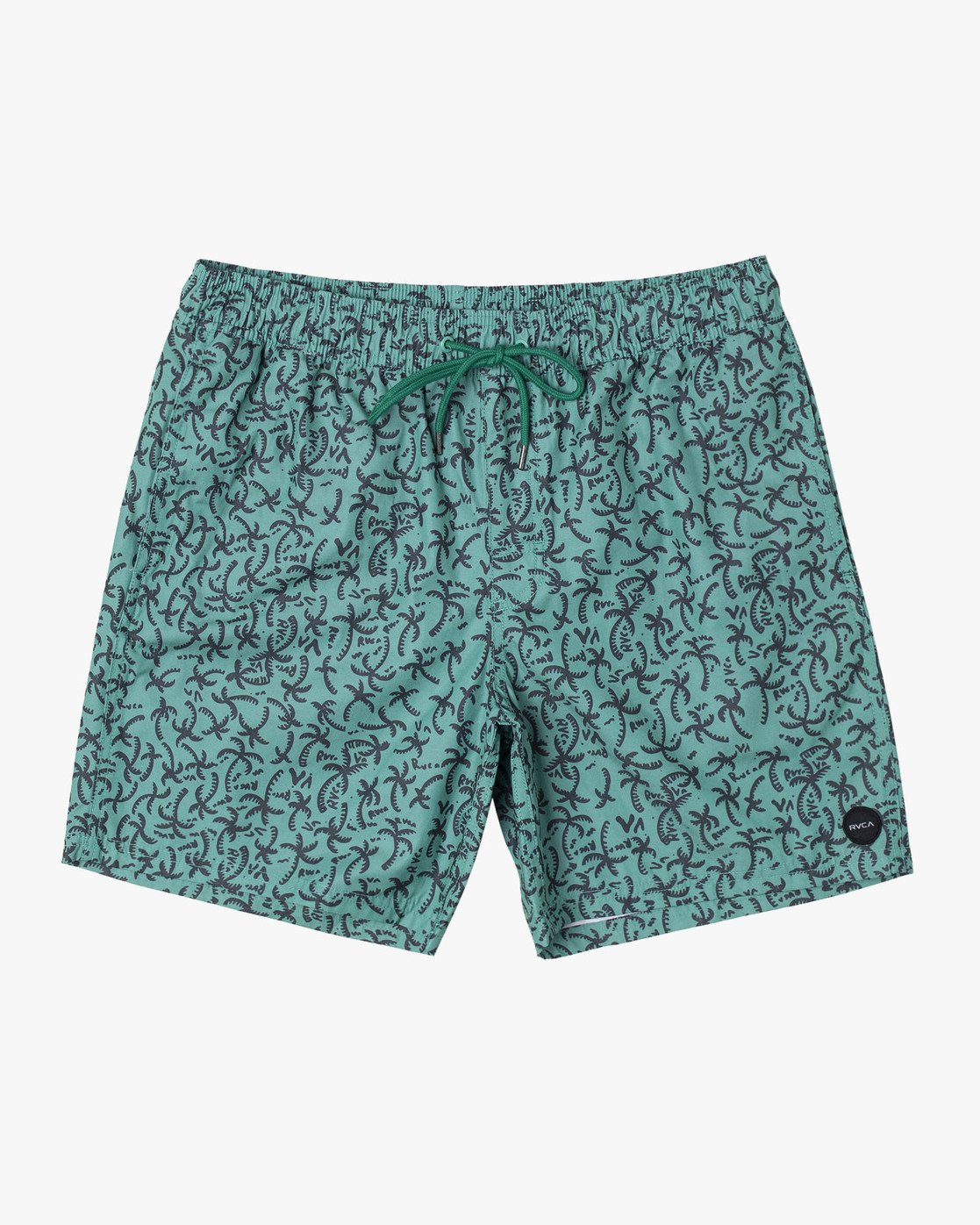 "10 CLUB 17"" ELASTIC SHORT Green M1071RCE RVCA"