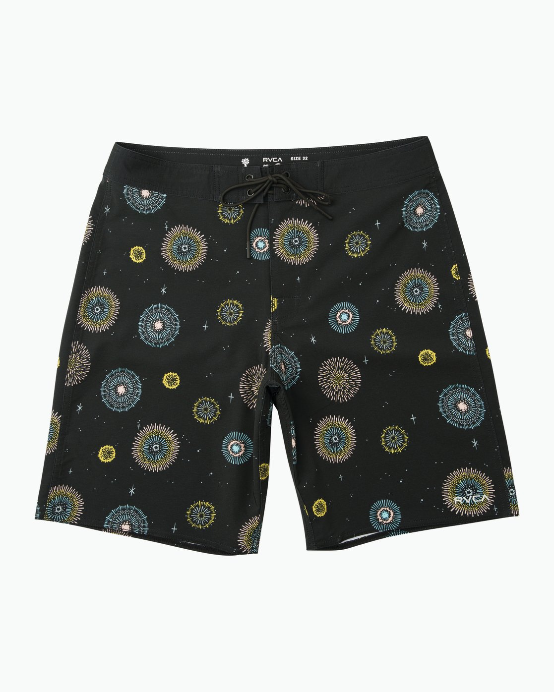 "0 Luke Pelletier 19"" Boardshort Black M110PRPE RVCA"