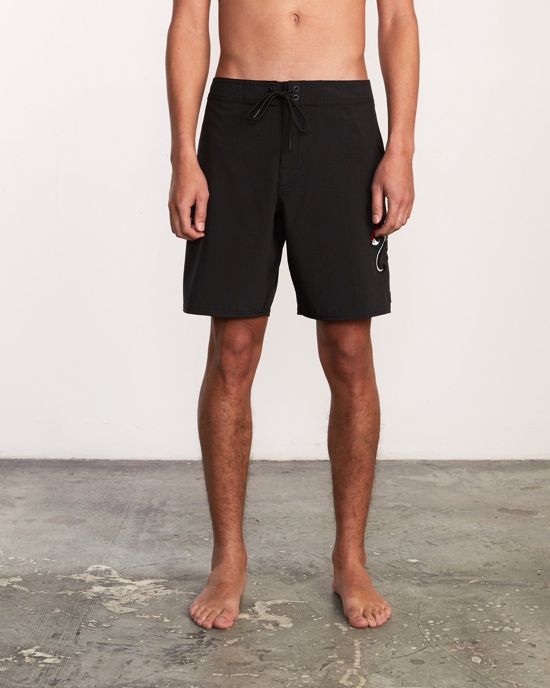 "1 Colin And Bert 19"" Boardshort Black M110URCB RVCA"