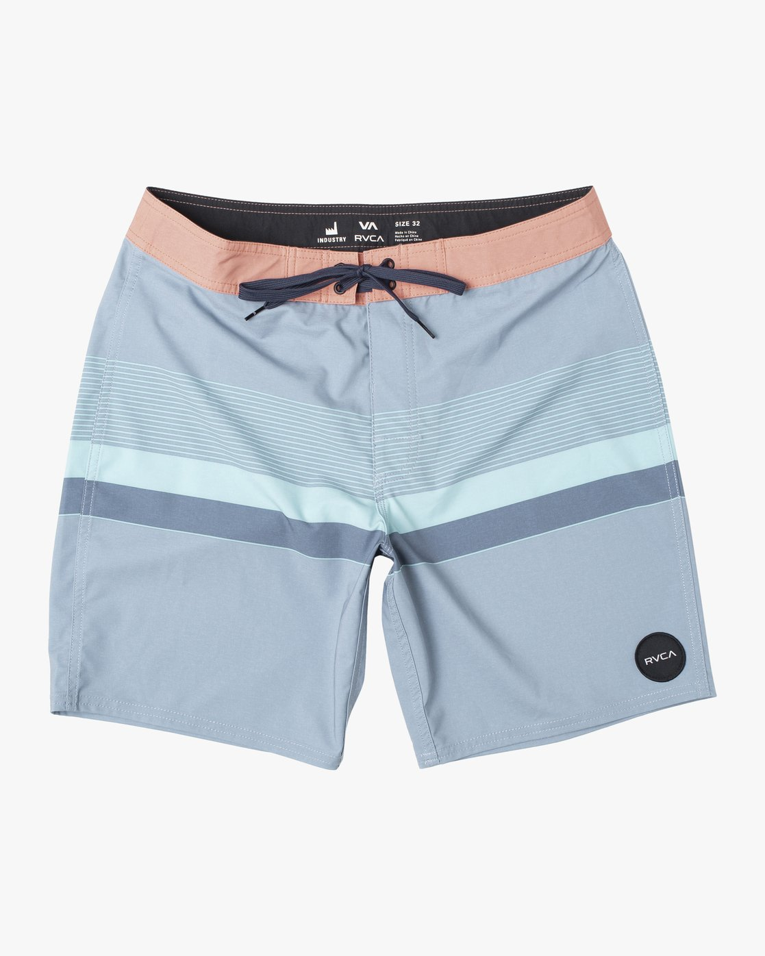 "0 RODGER BOARDSHORT 18"" Blue M1132RRT RVCA"