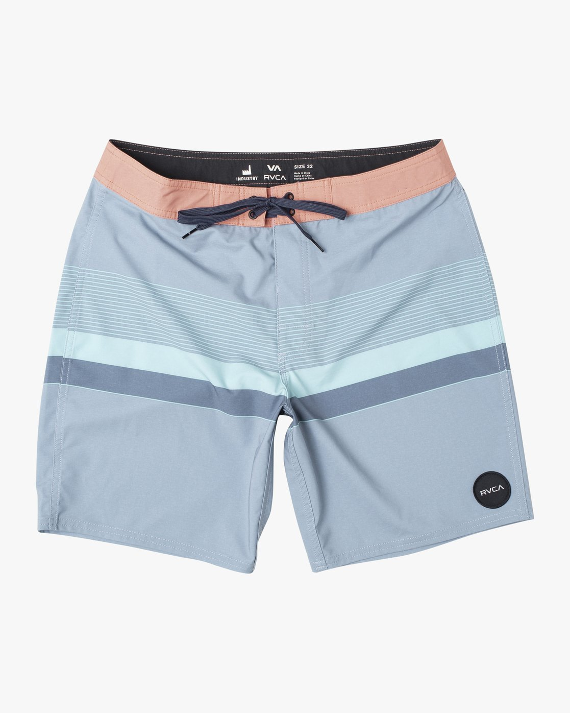 "1 RODGER BOARDSHORT 18"" Blue M1132RRT RVCA"
