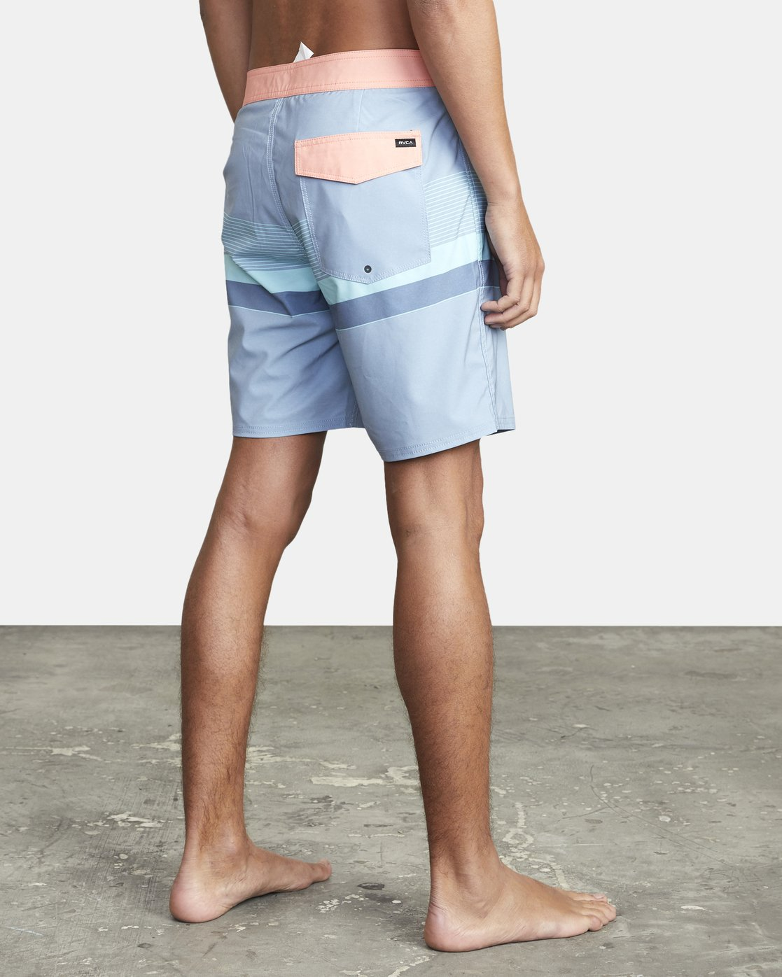 "6 RODGER BOARDSHORT 18"" Blue M1132RRT RVCA"