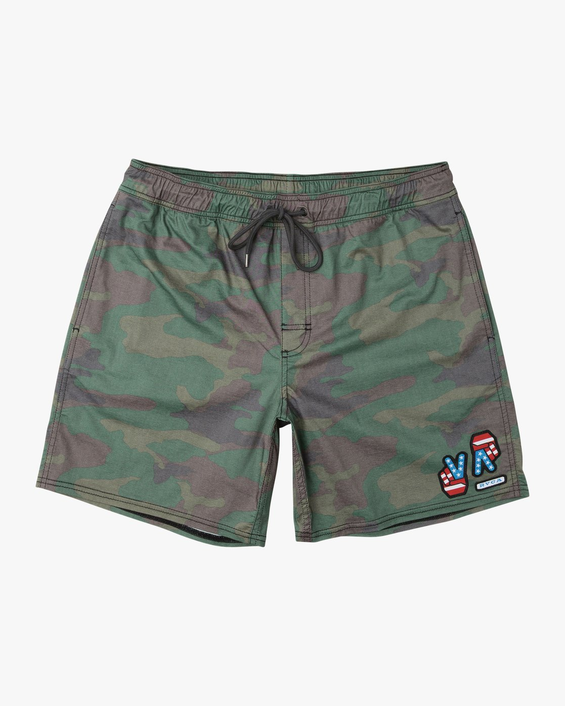 "0 Daytona 17"" Elastic Trunk Brown M120URDE RVCA"