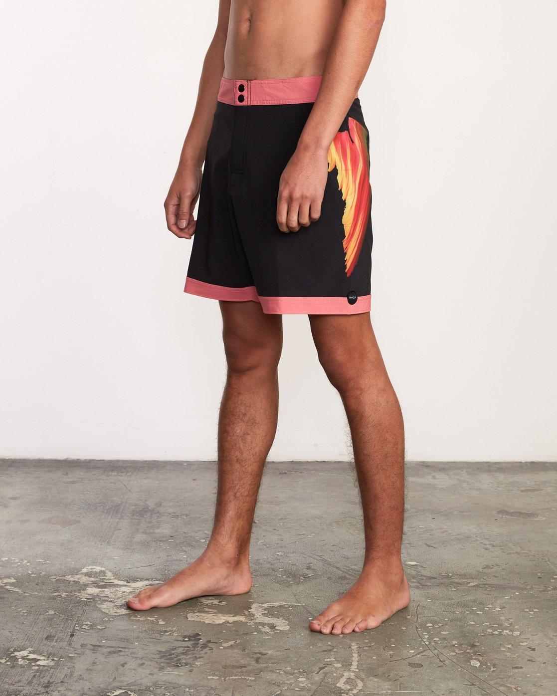 "2 Alex Knost 17"" Boardshort Pink M122URAK RVCA"