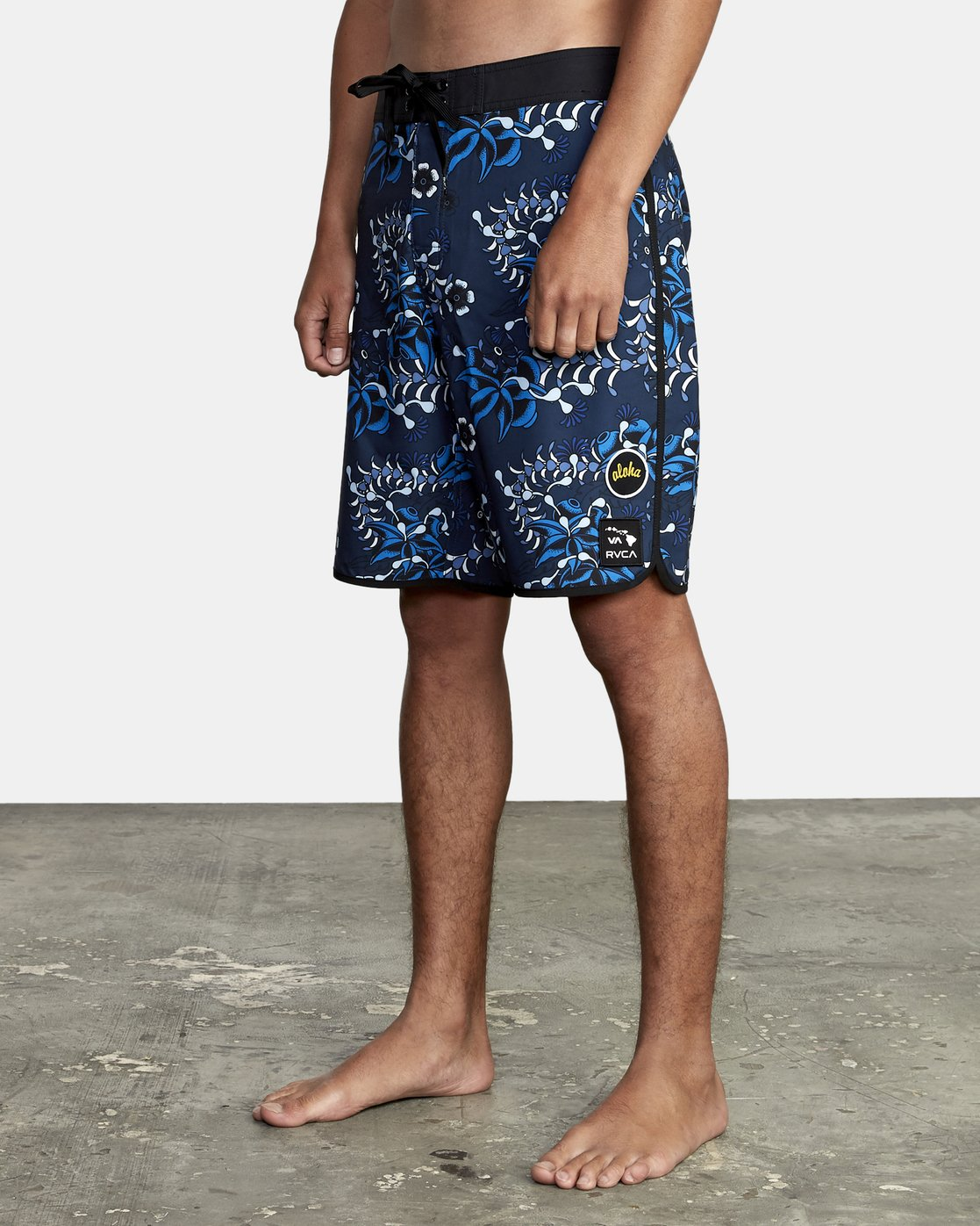 1 TROPICAL DMOTE TRUNK Blue M1262RTD RVCA