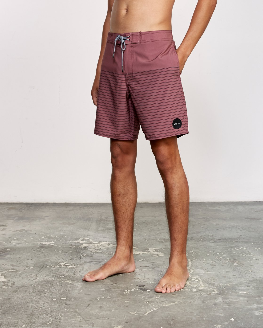 "2 Curren Caples 18"" Boardshort Purple M163TRCU RVCA"