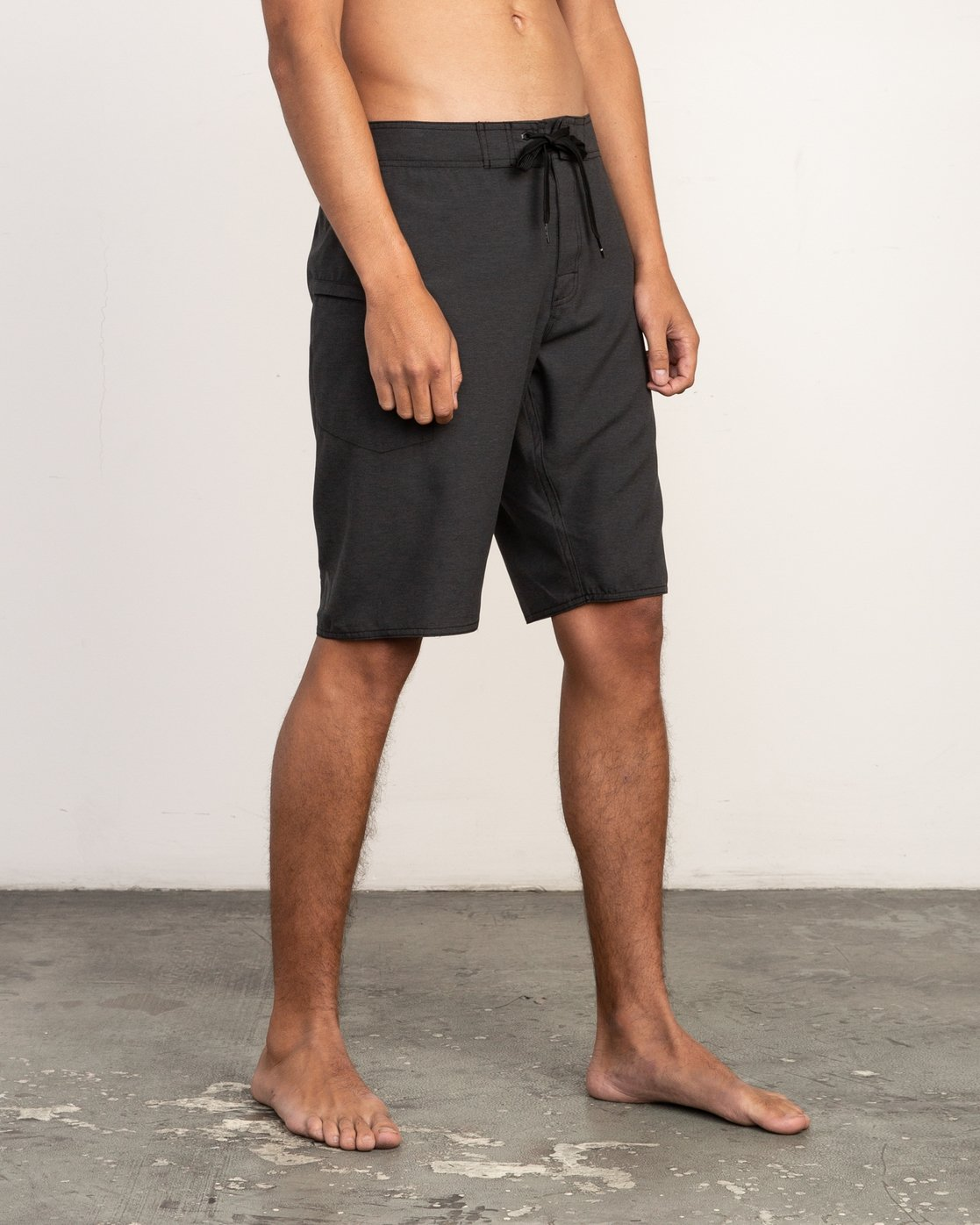 "6 Upper 20"" Boardshort Black M166TRUP RVCA"