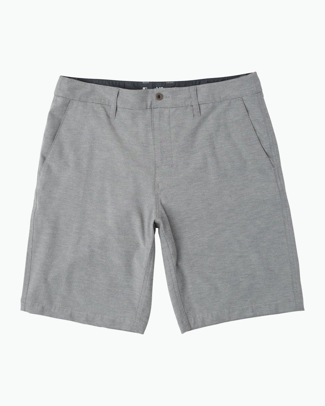 RVCA Mens Holidaze Hybrid Short