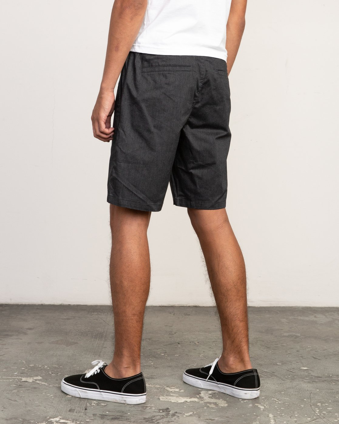 """3 All Time Session 19"""" Short Blue M201TRSE RVCA"""
