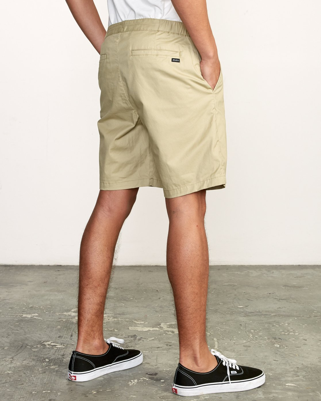 "4 All Time Session 19"" Short Beige M201TRSE RVCA"