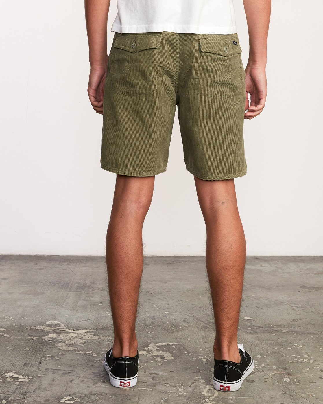 "5 Reed 18"" Walkshort Brown M201URRW RVCA"