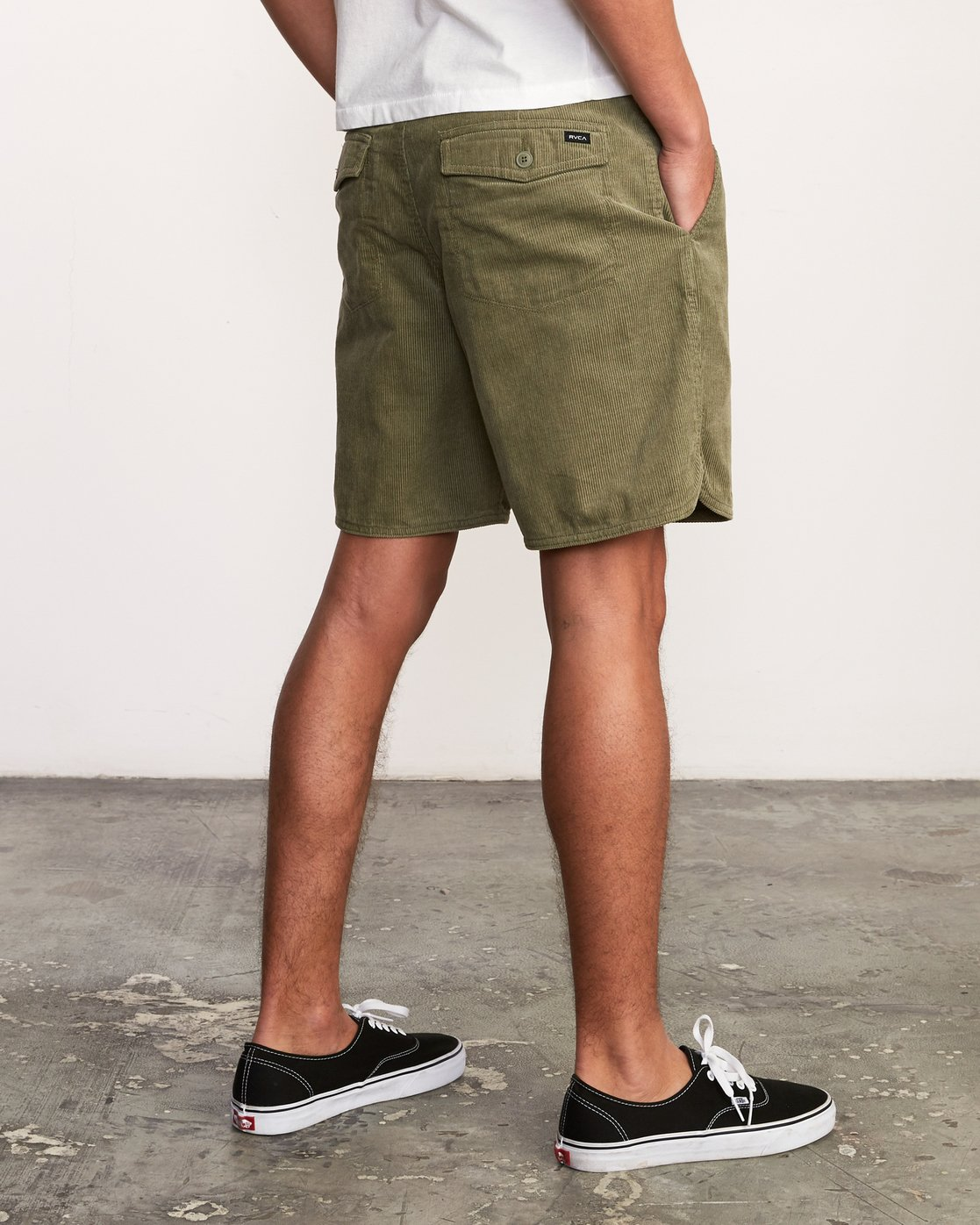 "6 Reed 18"" Walkshort Brown M201URRW RVCA"