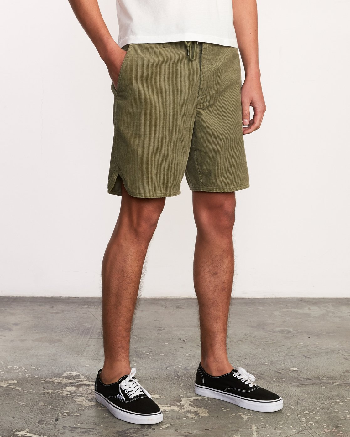"7 Reed 18"" Walkshort Brown M201URRW RVCA"