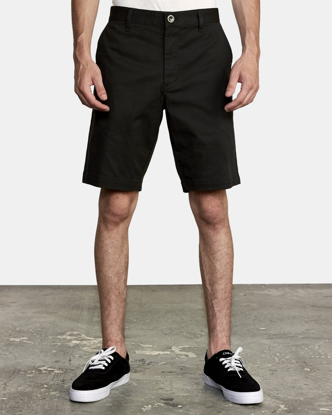 "1 WEEKEND STRETCH 20"" SHORT (40, 42) Black M202NRWS RVCA"