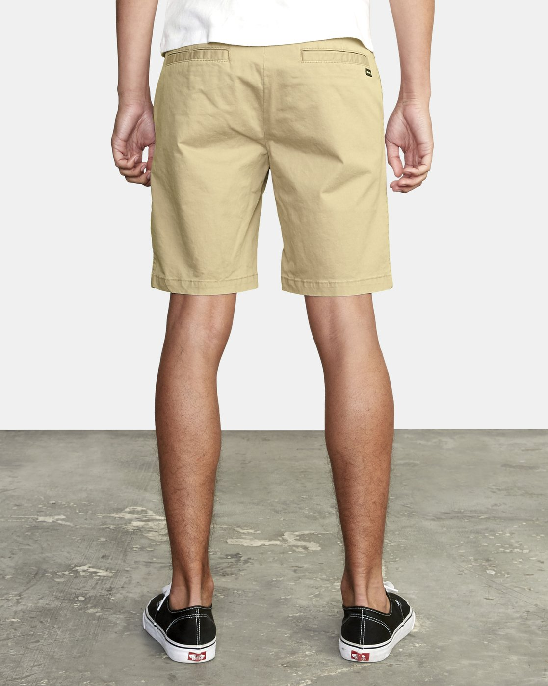 "7 DAGGERS 19"" CHINO SHORT Purple M202TRDC RVCA"