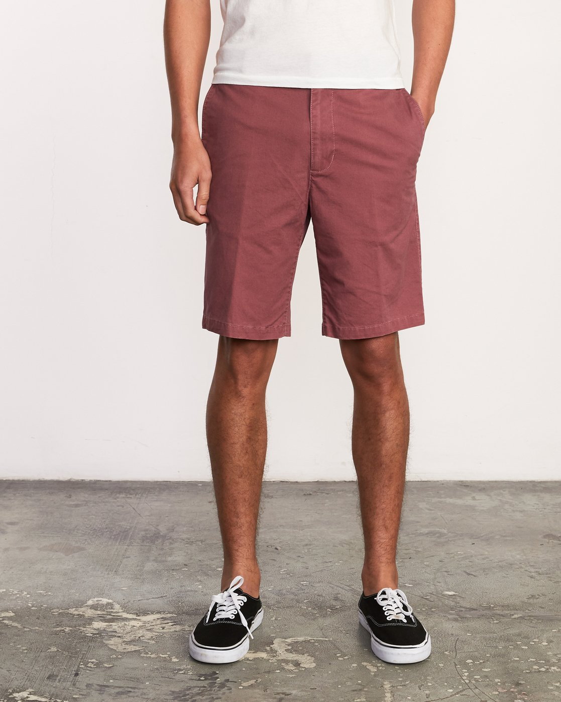 1 Daggers Chino Short Purple M202TRDC RVCA
