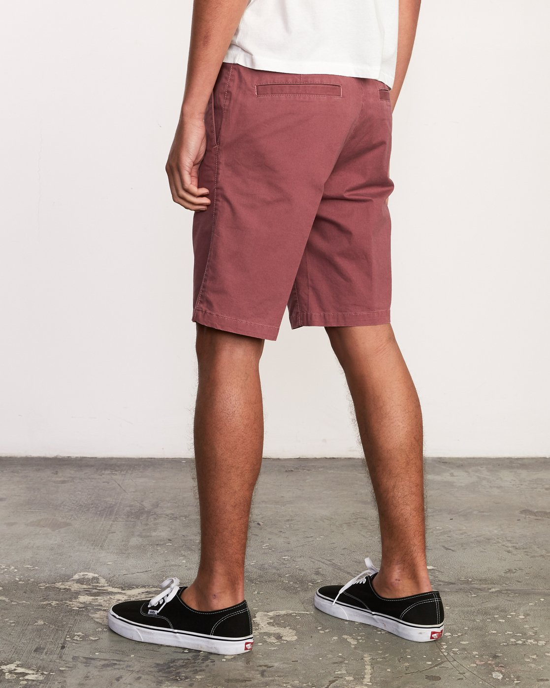"3 DAGGERS 19"" CHINO SHORT Grey M202TRDC RVCA"