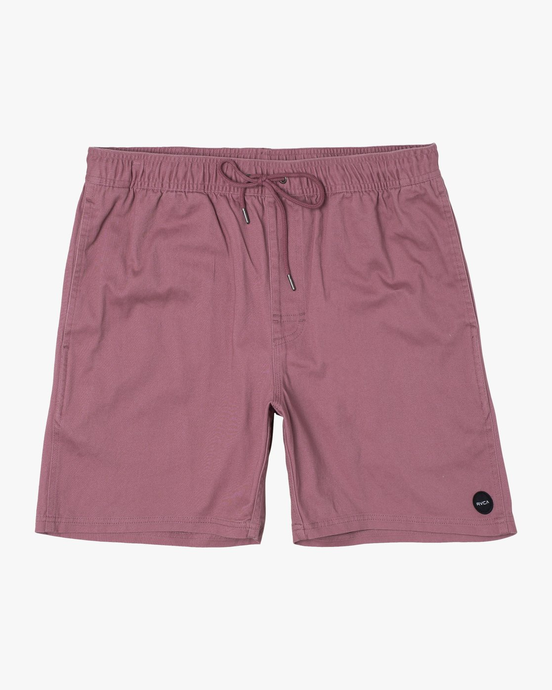 "0 ESCAPE 17"" ELASTIC SHORT Purple M2041RES RVCA"