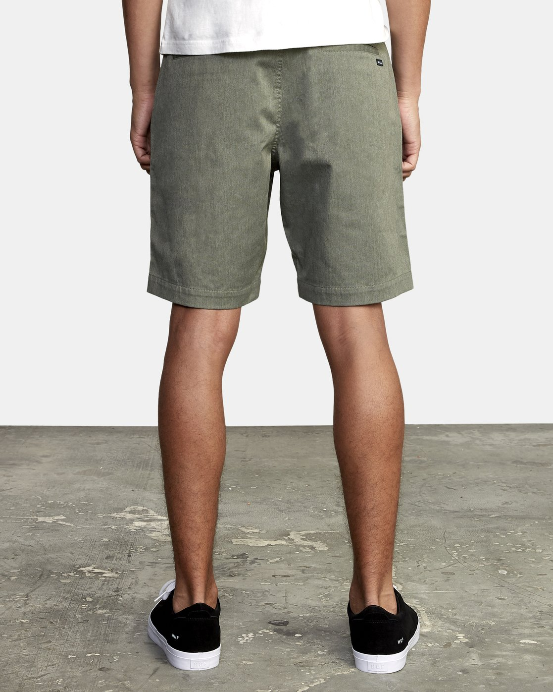 4 WEEKEND TEXTURE WALKSHORT Green M2052RBW RVCA