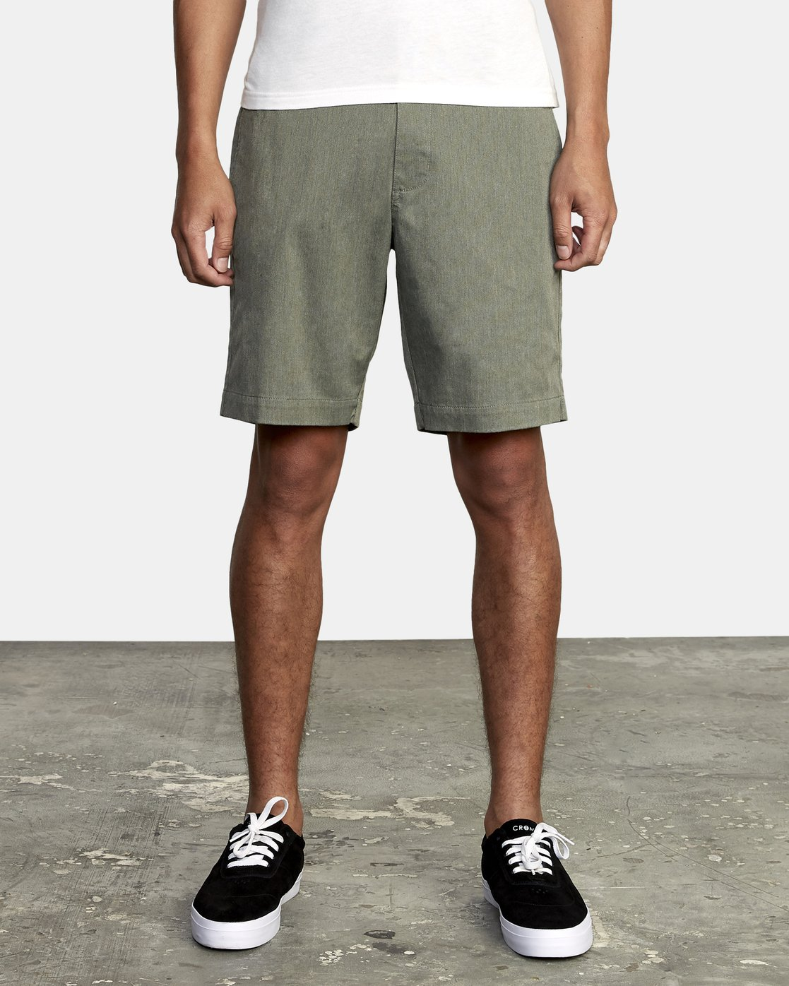 1 WEEKEND TEXTURE WALKSHORT Green M2052RBW RVCA