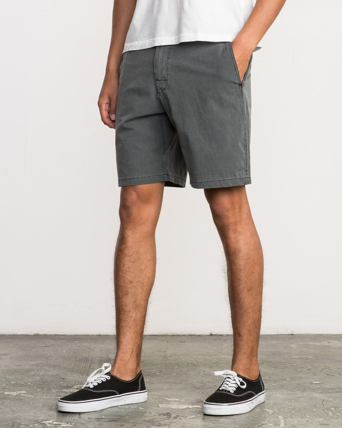 2 All Time Coastal Hybrid Short Grey M206QRCO RVCA