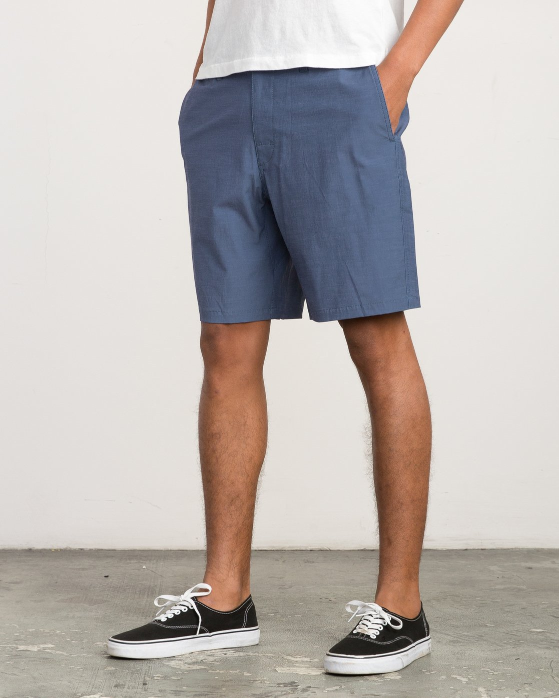 2 All Time Coastal Hybrid Short Blue M206QRCO RVCA