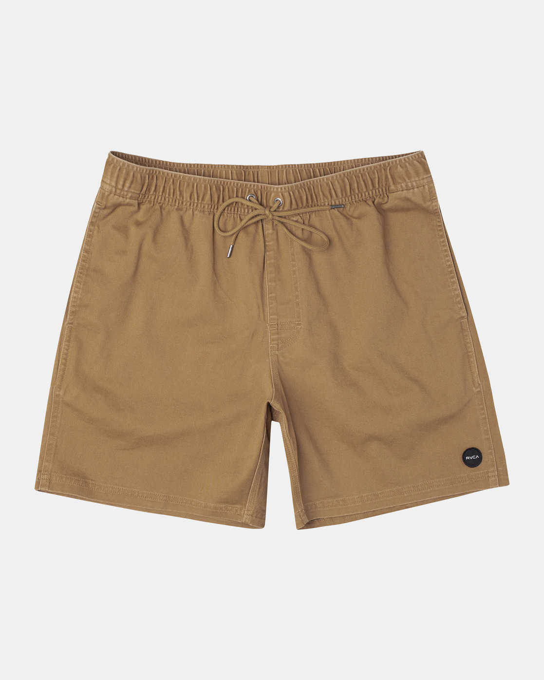 "0 ESCAPE ELASTIC SHORT 17"" Brown M2073REE RVCA"