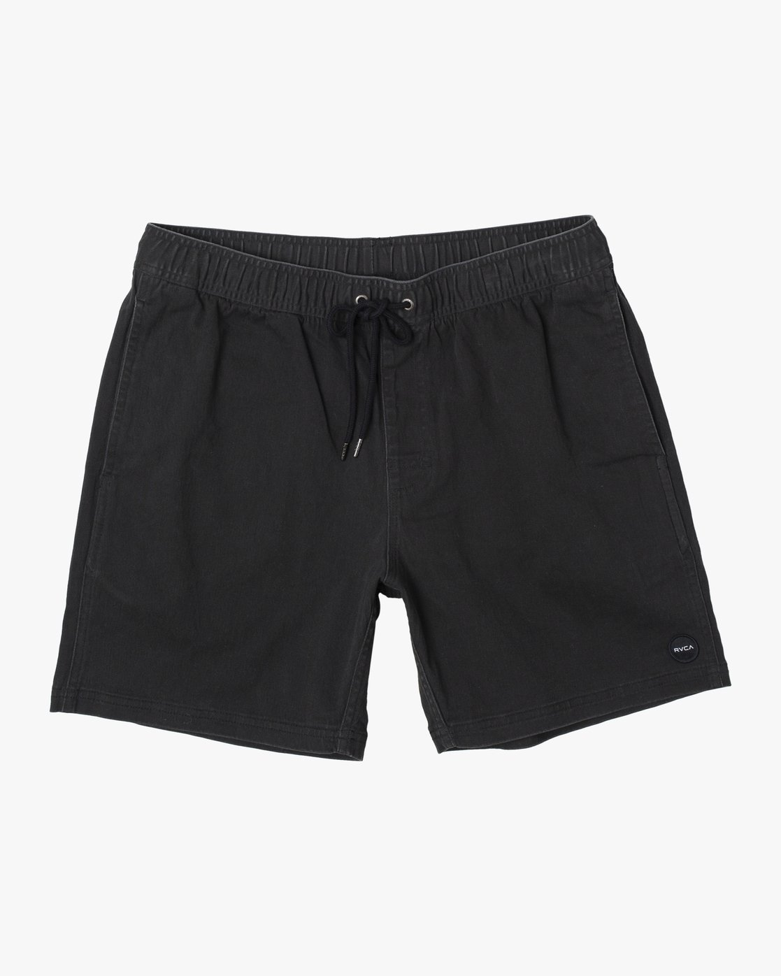 "1 ESCAPE ELASTIC SHORT 17"" Black M2073REE RVCA"