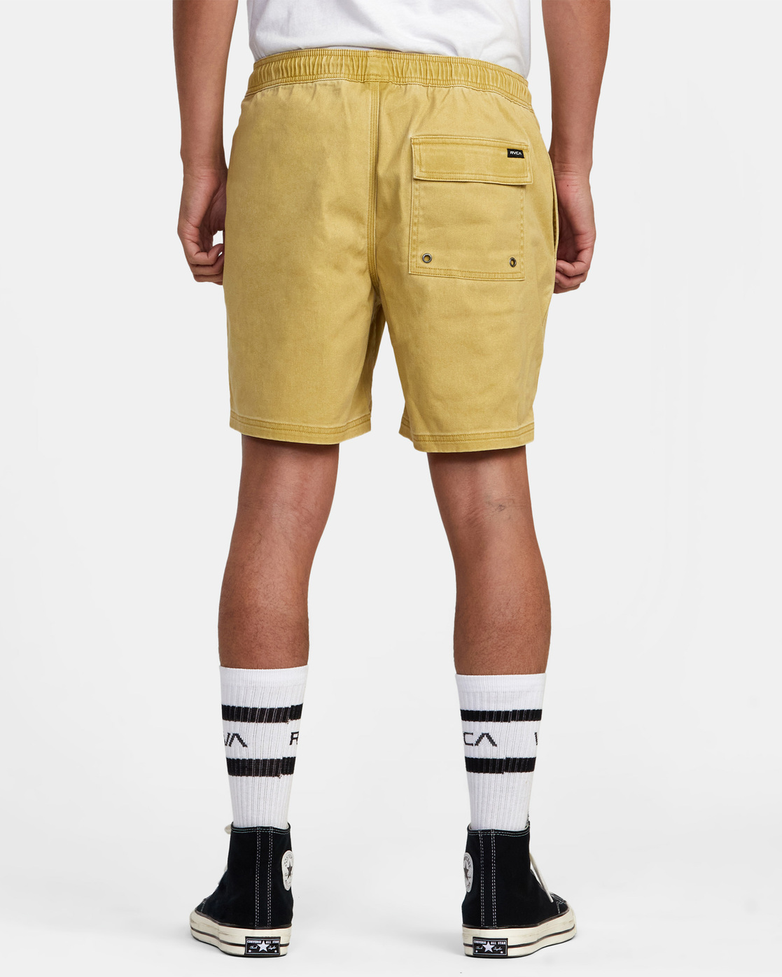 "2 ESCAPE ELASTIC SHORT 17"" Brown M2073REE RVCA"