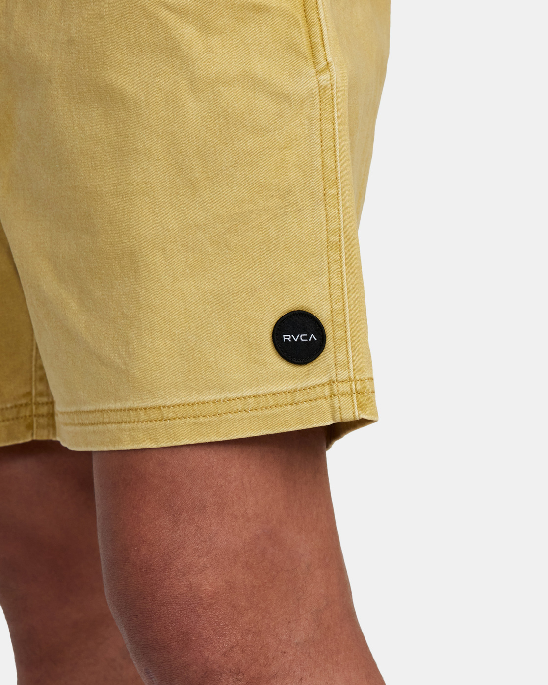 "3 ESCAPE ELASTIC SHORT 17"" Brown M2073REE RVCA"