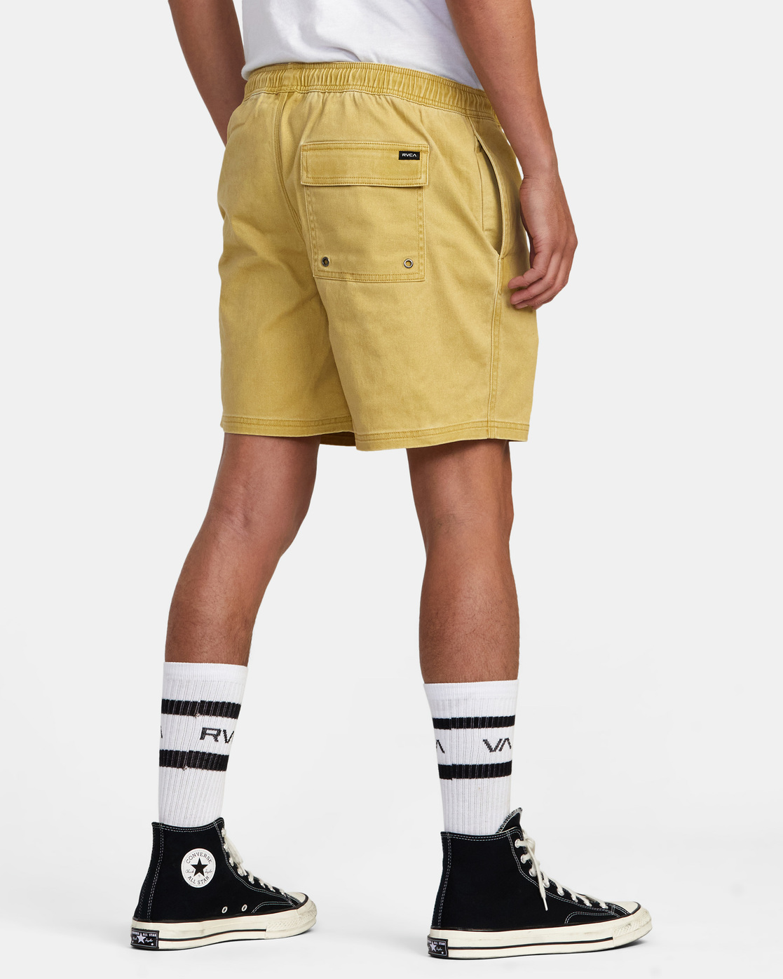"5 ESCAPE ELASTIC SHORT 17"" Brown M2073REE RVCA"