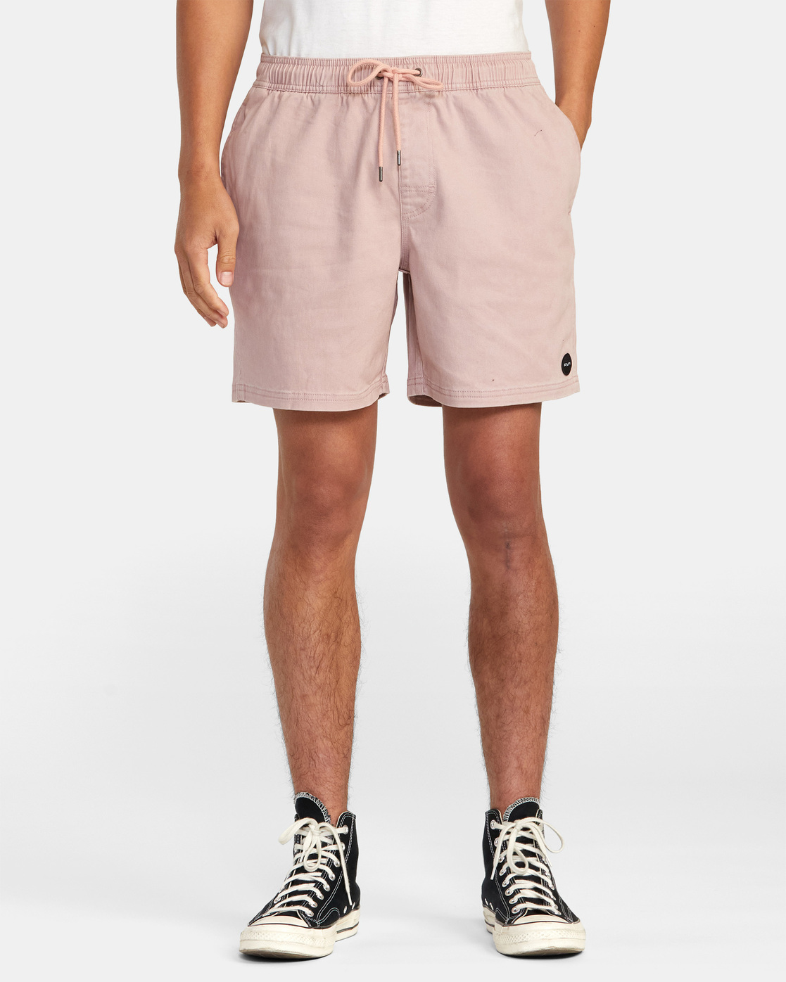 "1 ESCAPE ELASTIC SHORT 17"" Grey M2073REE RVCA"