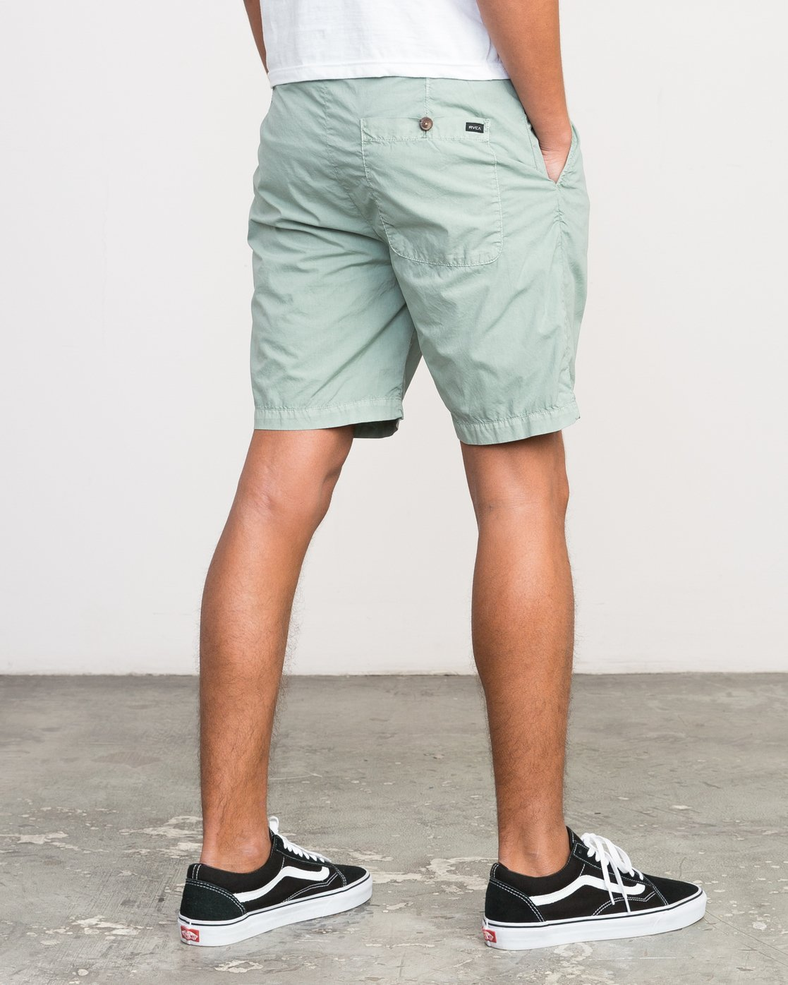 5 Nomad All Time Short Green M207PRNO RVCA