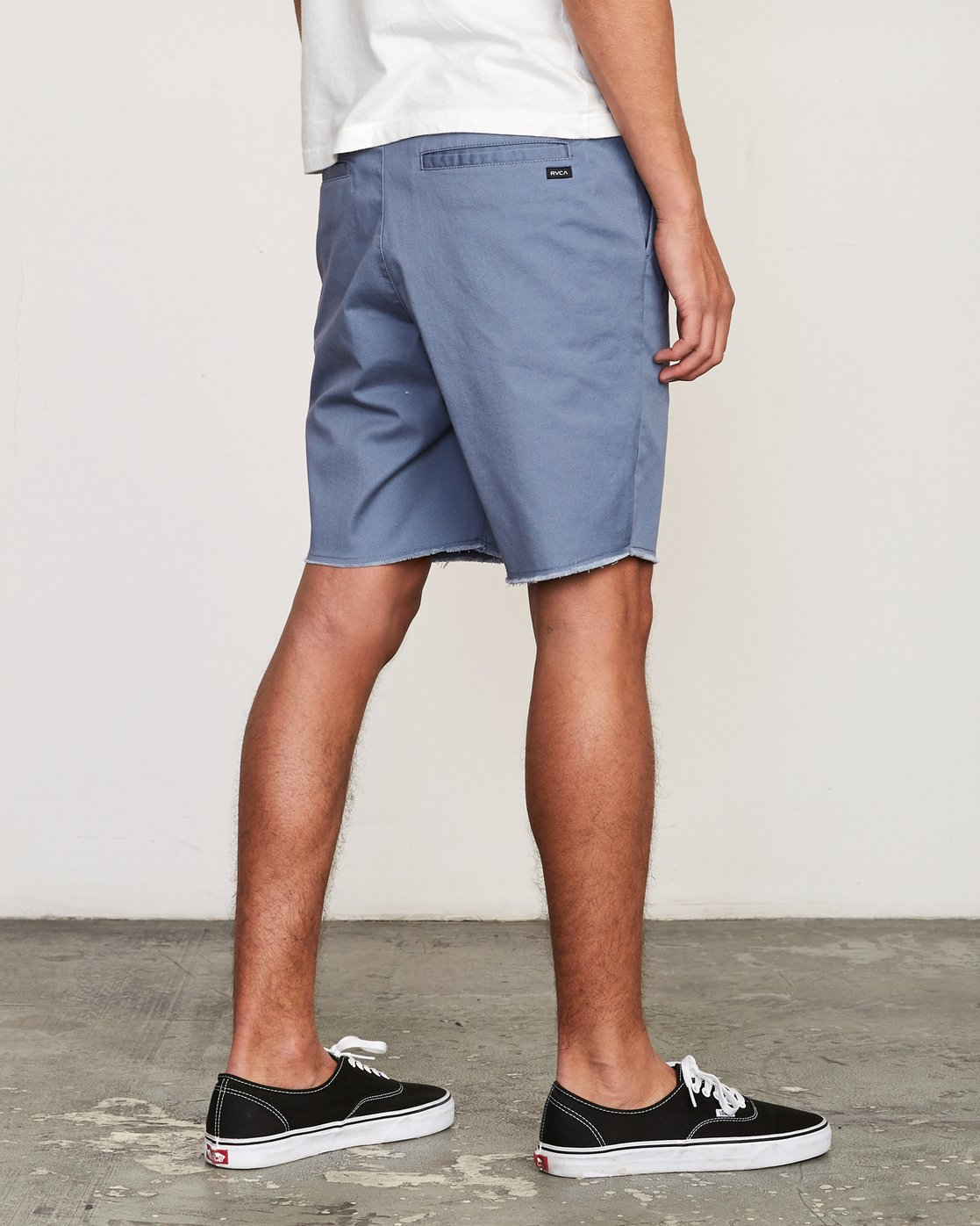 "5 Weekend Elastic 19"" Short Blue M207TRWE RVCA"