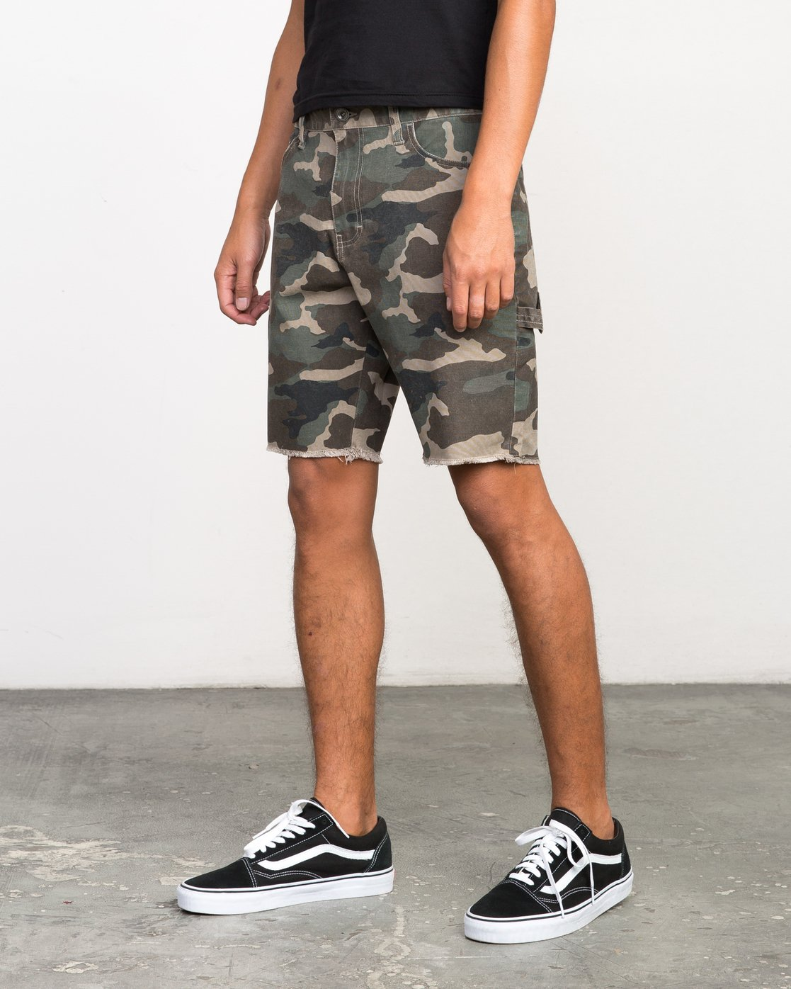 2 Work It Camo Short Camo M208NRWO RVCA