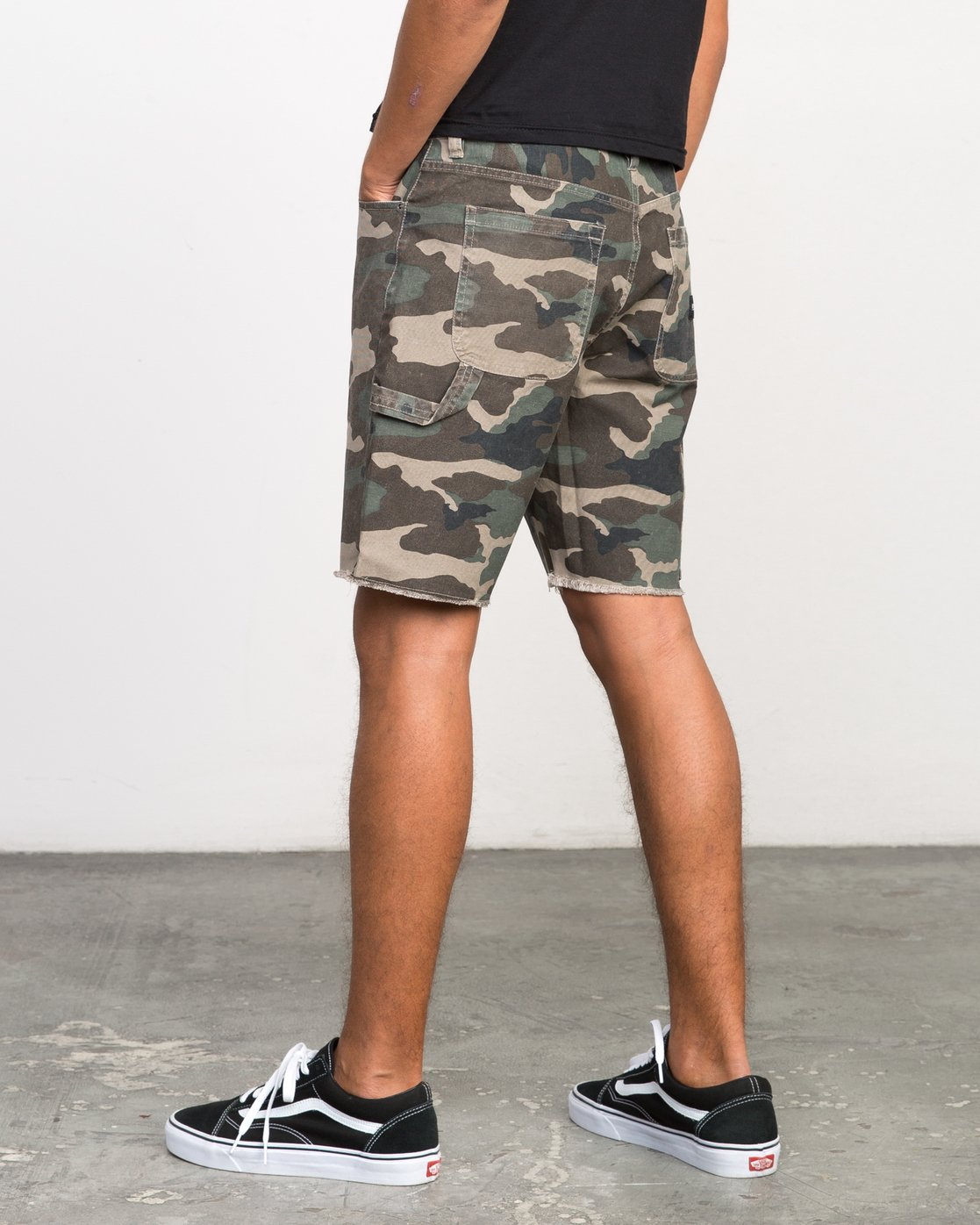 3 Work It Camo Short Camo M208NRWO RVCA
