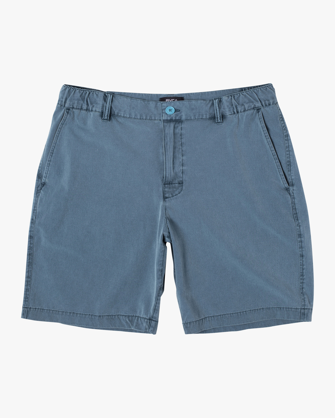 "0 ALL TIME RINSED COASTAL HYBRID SHORT 19"" Blue M211TRCR RVCA"