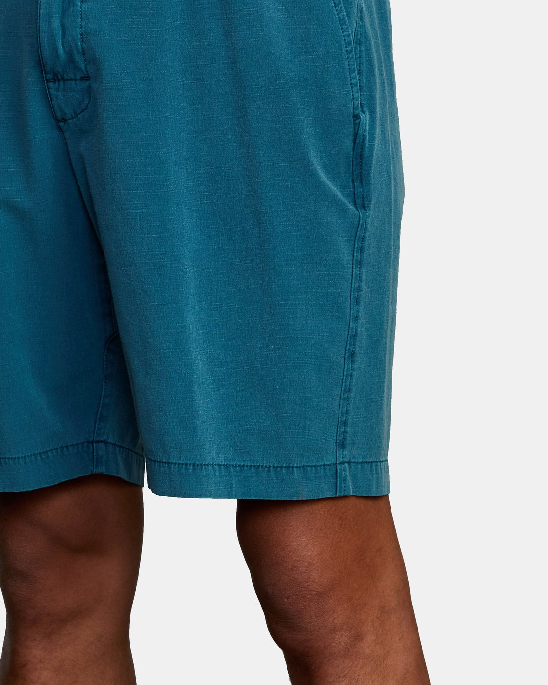 "6 ALL TIME RINSED COASTAL HYBRID SHORT 19"" Blue M211TRCR RVCA"
