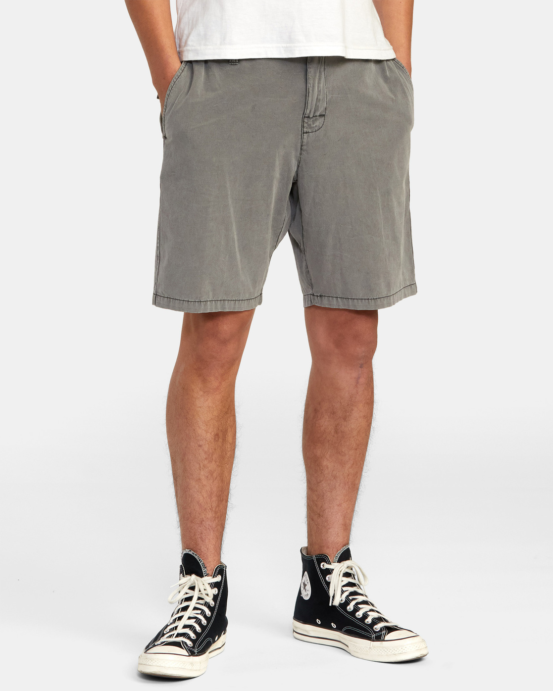 10 All Time Rinsed Coastal Hybrid Short Black M211TRCR RVCA
