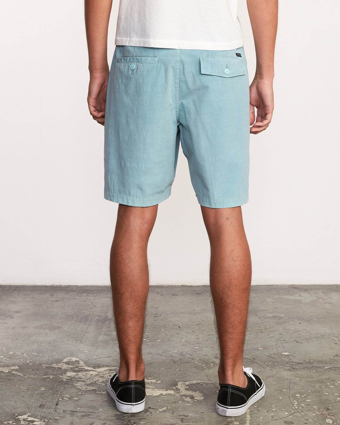 4 All Time Rinsed Coastal Hybrid Short Blue M211TRCR RVCA