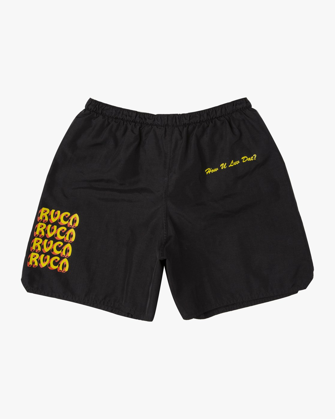1 Matty's Patty's Elastic Trunk Black M225URMS RVCA