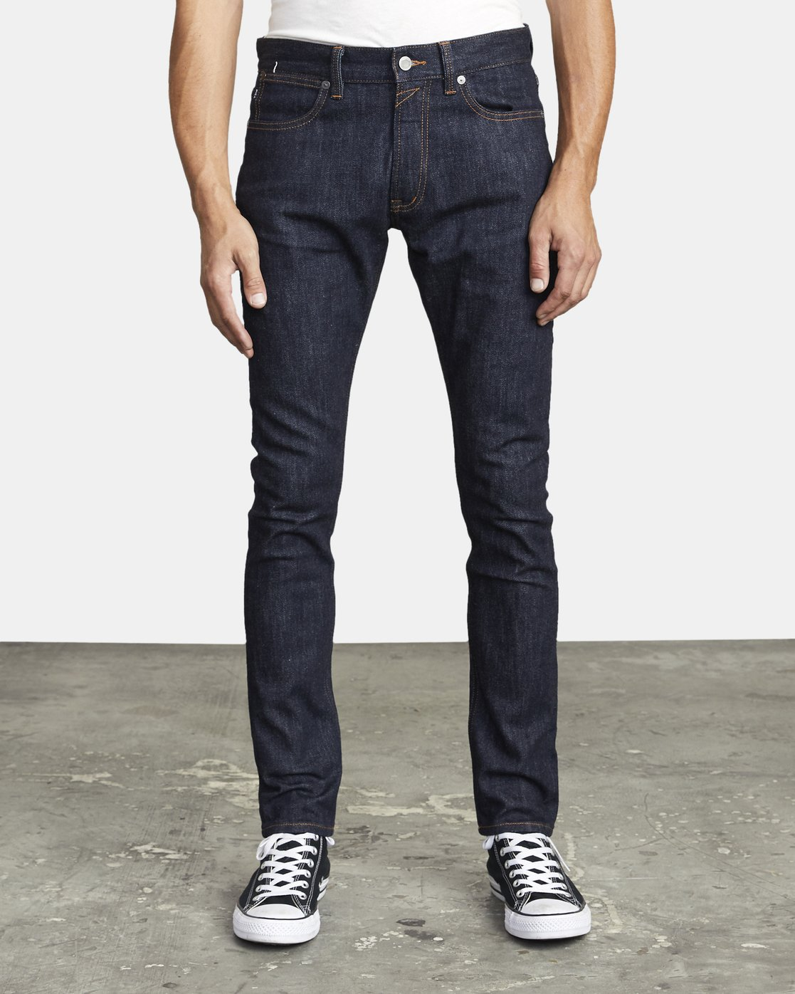 0 ROCKERS SKINNY FIT DENIM Blue M3013RRO RVCA