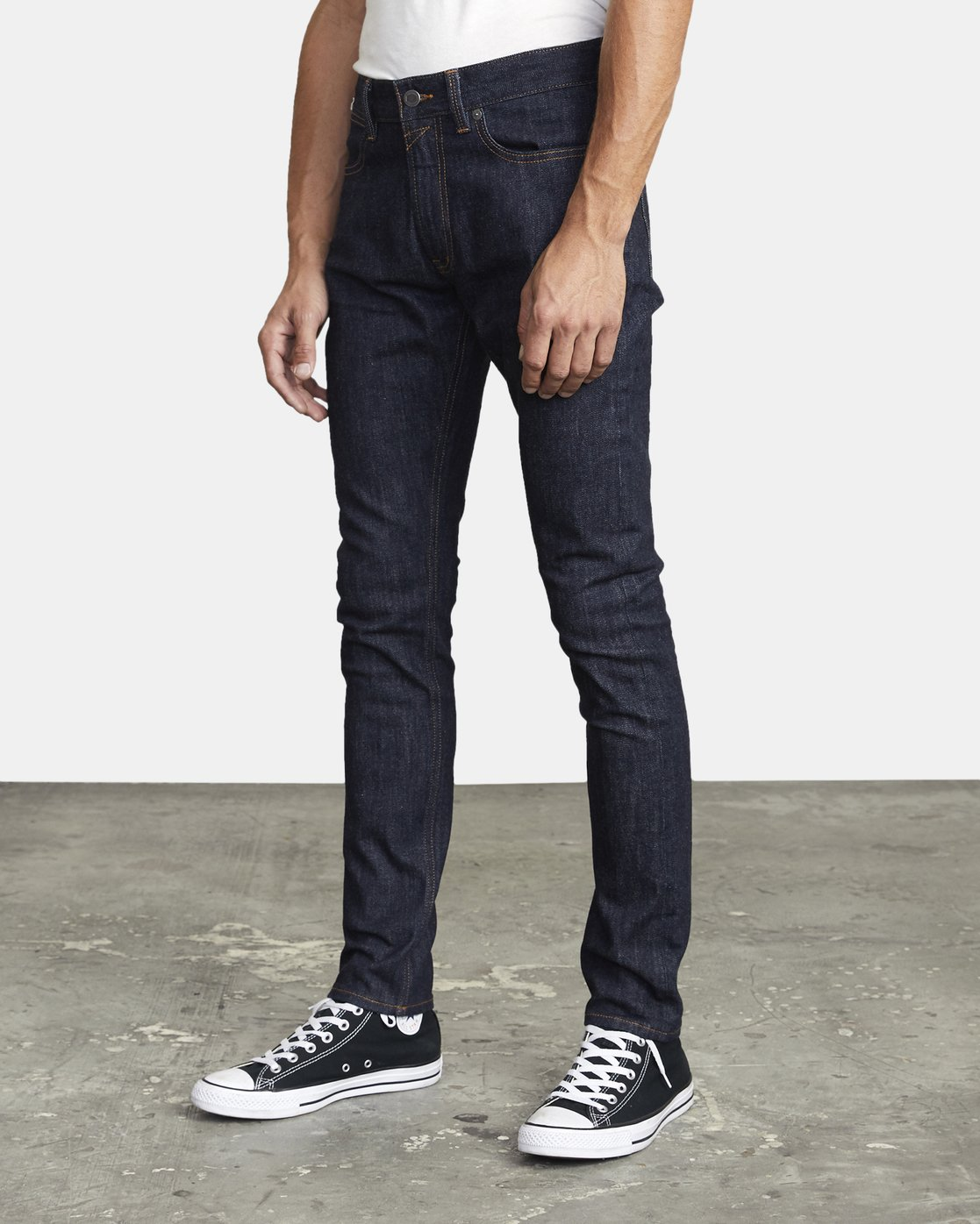 2 ROCKERS SKINNY FIT DENIM Blue M3013RRO RVCA