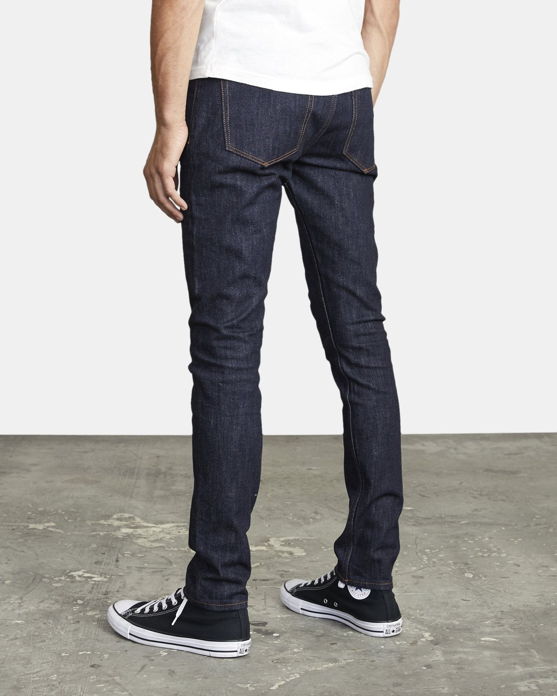 3 ROCKERS SKINNY FIT DENIM Blue M3013RRO RVCA