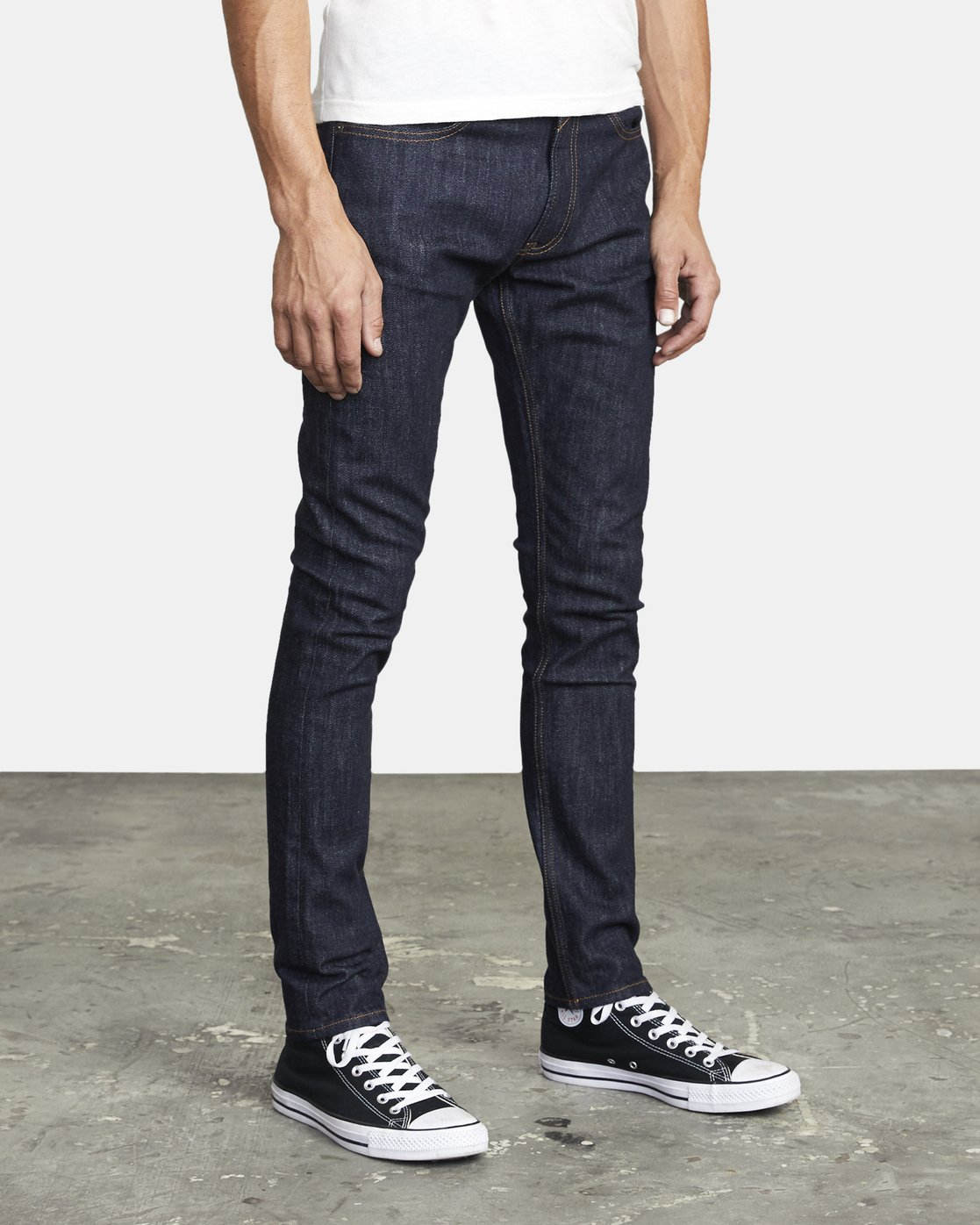 6 ROCKERS SKINNY FIT DENIM Blue M3013RRO RVCA